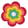 Tapis enfant multicolore Love'n Peace Arte Espina
