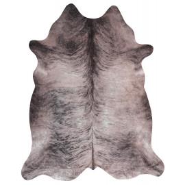 Tapis imitation peau de vache gris intérieur et extérieur Super 4