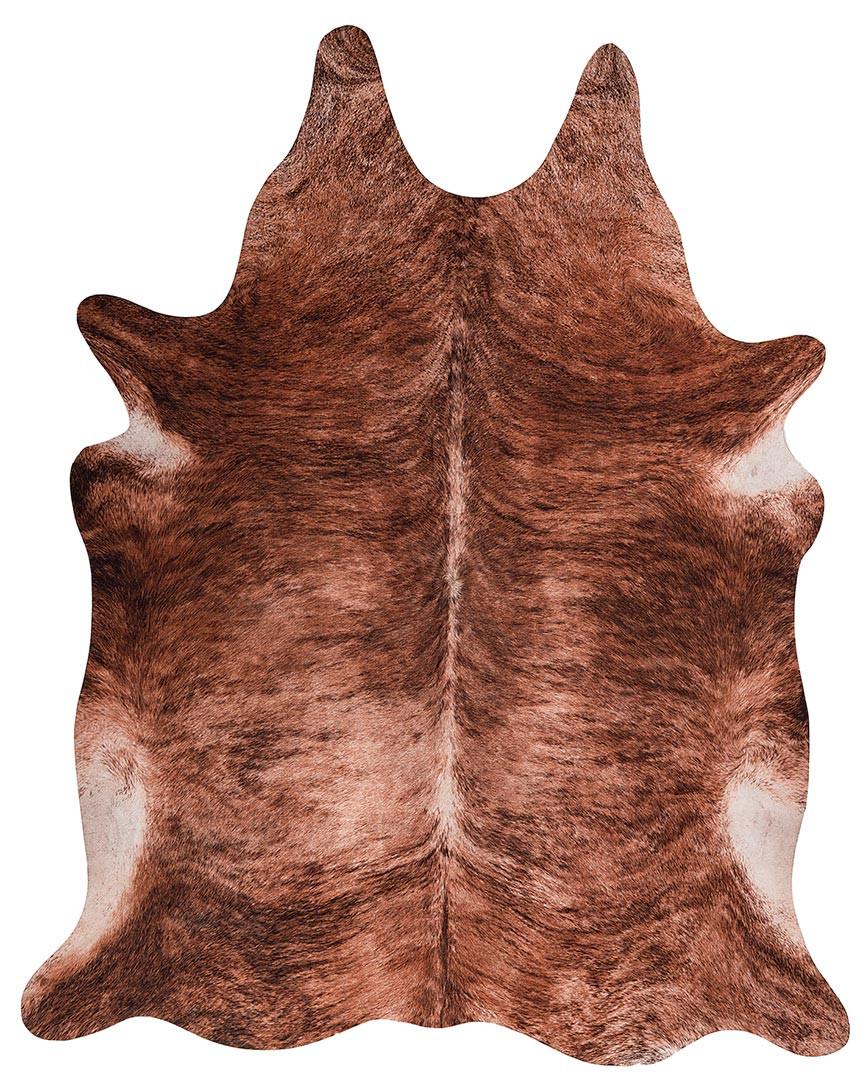 Tapis imitation peau de vache marron intérieur et extérieur Super 5