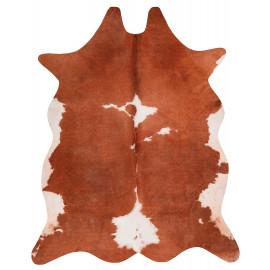 Tapis imitation peau de vache marron intérieur et extérieur Super 6