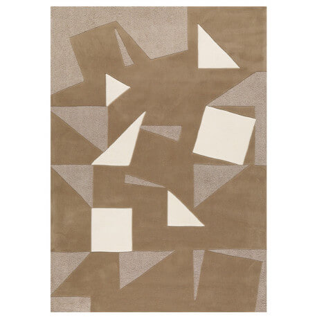 Tapis moderne beige Monochrome Arte Espina