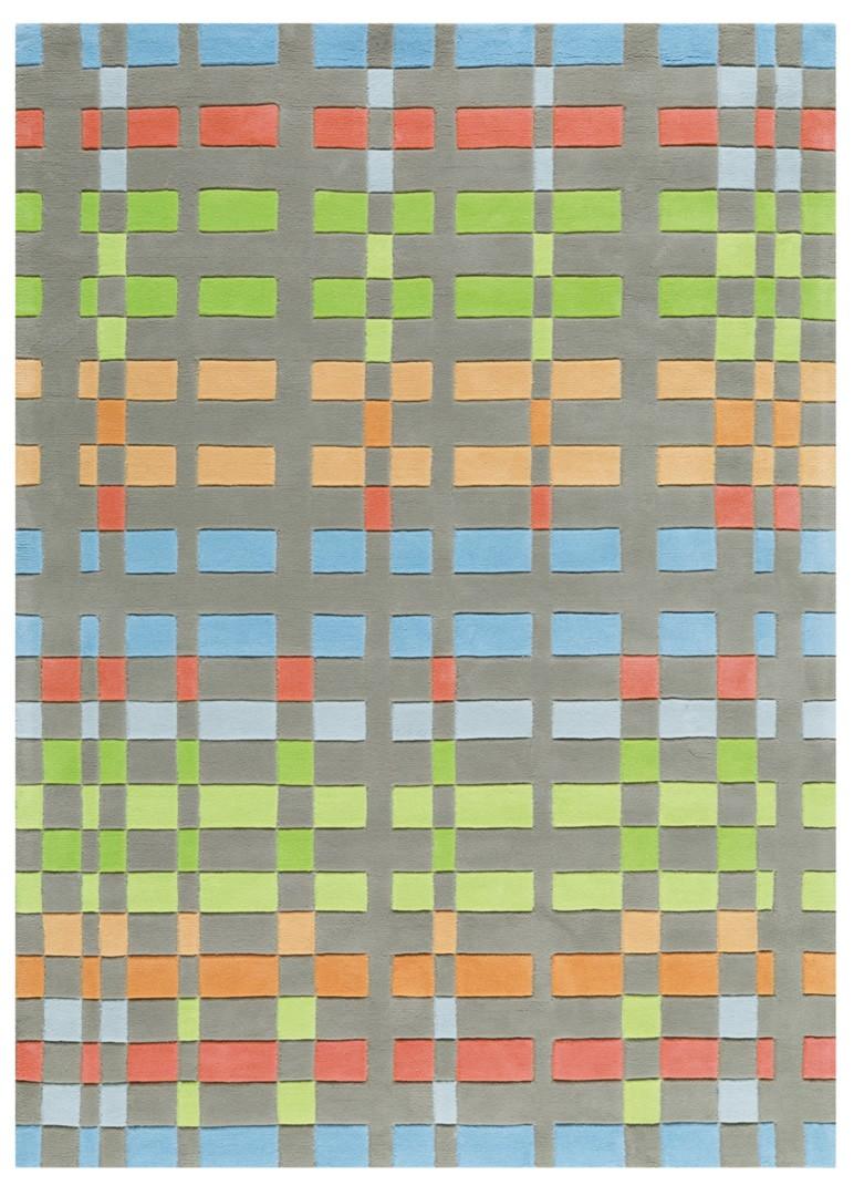 Tapis plat multicolore Circus Arte Espina