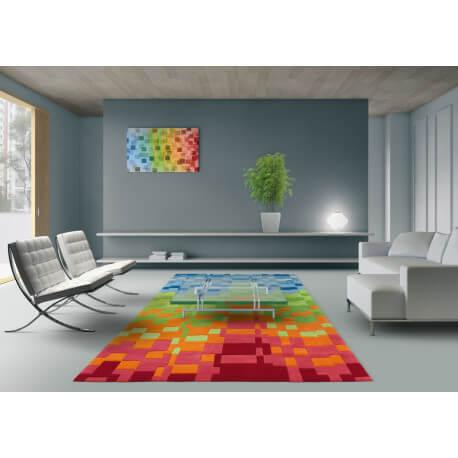 tapis moderne color circus arte espina. Black Bedroom Furniture Sets. Home Design Ideas