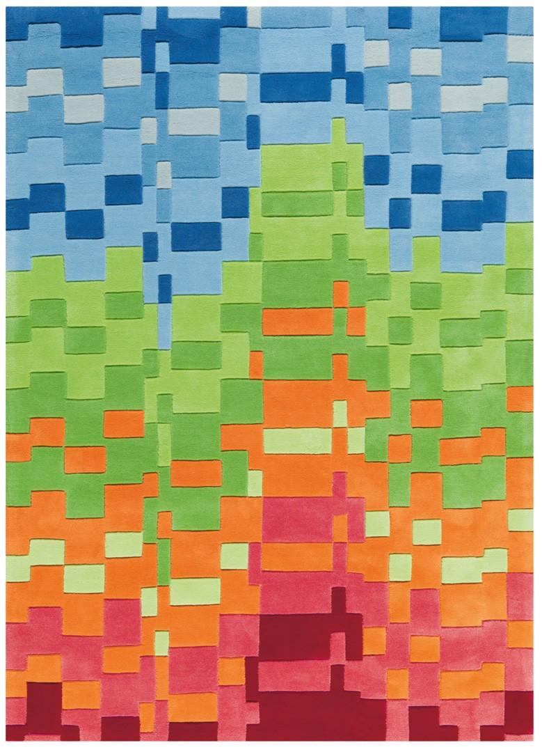 Tapis moderne coloré Circus Arte Espina
