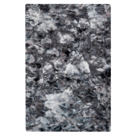 Tapis imitation fourrure très doux uni polyester rectangle Kendhua