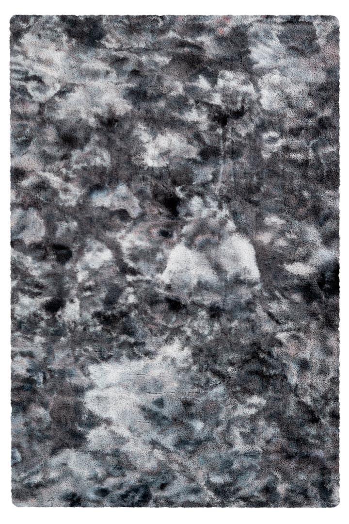 Tapis imitation fourrure très doux uni polyester rectangle Kendhua