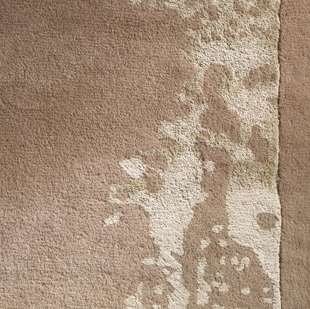 Tapis en laine de Nouvelle-Zélande beige Planet Earth Arte Espina