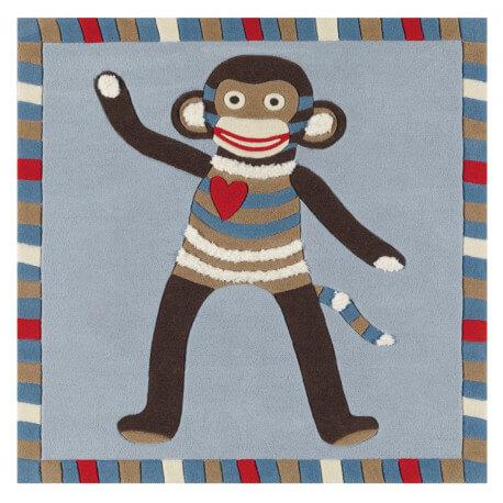 Tapis bleu pour bébé Kids Arte Espina