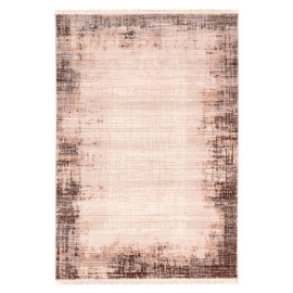 Tapis moderne avec franges rectangle en polyester Creuson