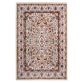 Tapis style orient rectangle en polyester Cauris