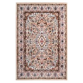 Tapis style orient rectangle en polyester Cauris