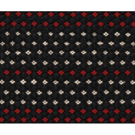 Tapis réversible noir de salon Red Expression Arte Espina