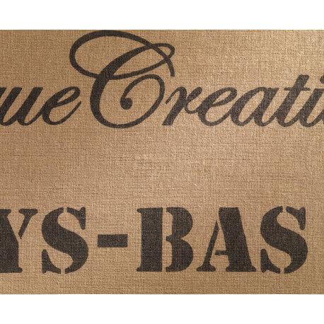 Tapis vintage beige en jute Rustic Arte Espina
