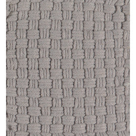 Tapis en coton gris Twist Arte Espina