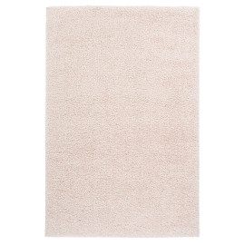 Tapis uni shaggy polyester rectangle intérieur Chiba