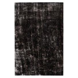 Tapis effet brillant shaggy uni polyester rectangle Timothee