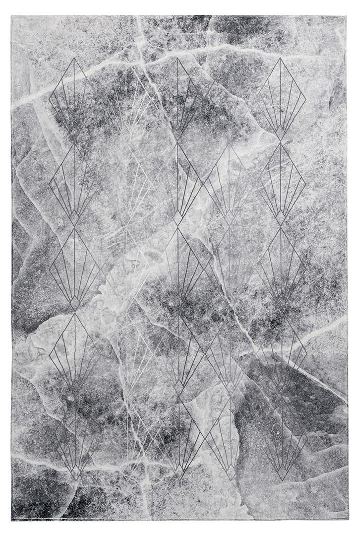 Tapis moderne graphique très doux intérieur Yalata