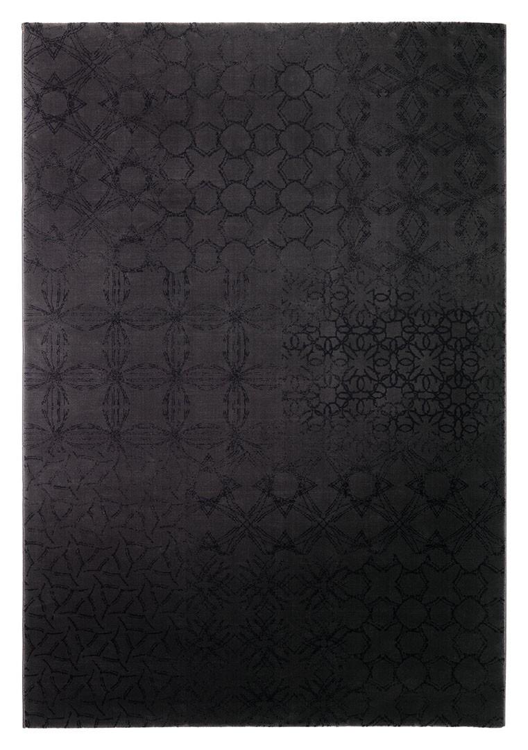 Tapis à courtes mèches noir Hamptons par Esprit Home
