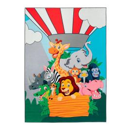 Tapis pour enfant polyester multicolore Balloon