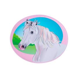 Tapis multicolore pour enfant lavable en machine Horse