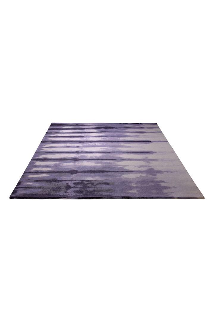 Tapis violet en acrylique Seismograph par Esprit Home