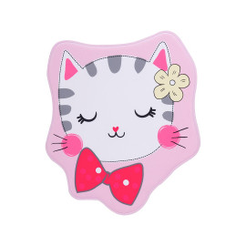 Tapis lavable en machine multicolore enfant Kitten