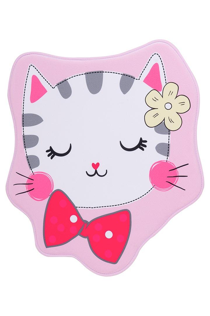 Tapis lavable en machine multicolore enfant Kitten