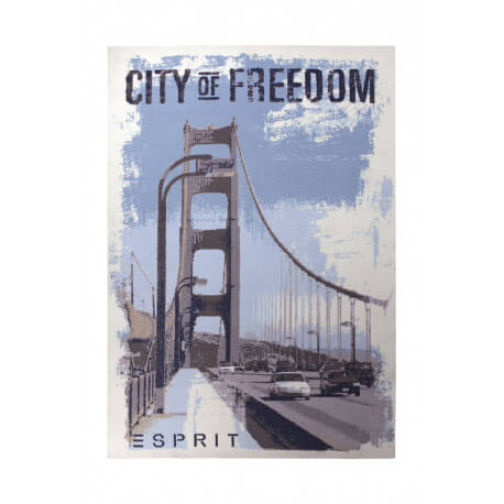 Tapis design multicolore City Of Freedom par Esprit Home