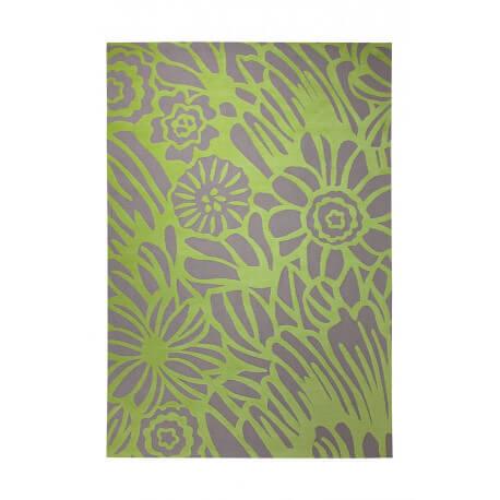 Tapis tissé gris et vert Finally Summer par Esprit Home