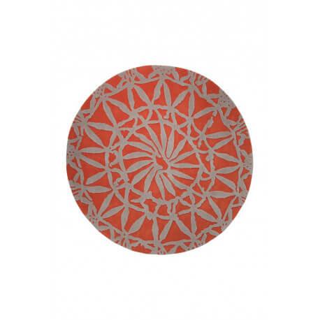 Tapis rond orange Oriental Lounge par Esprit Home