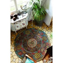 Tapis tufté main multicolore Mandala par Esprit Home