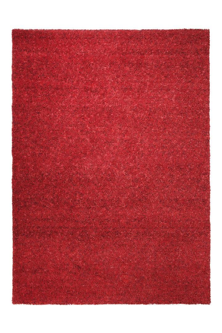 Tapis en laine rouge Spacedyed par Esprit Home