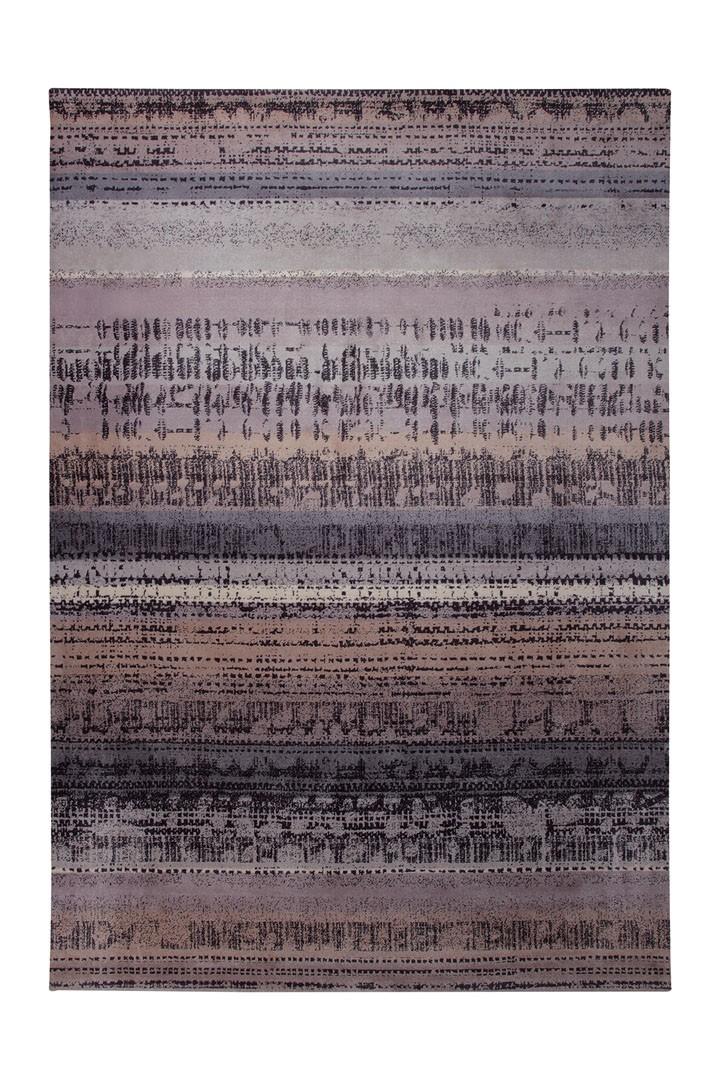 Tapis imprimé en acrylique violet Graphic Edge par Esprit Home