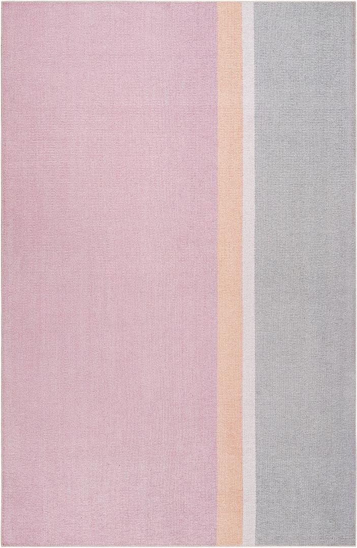 Tapis rayé en polyester design Salt River Esprit