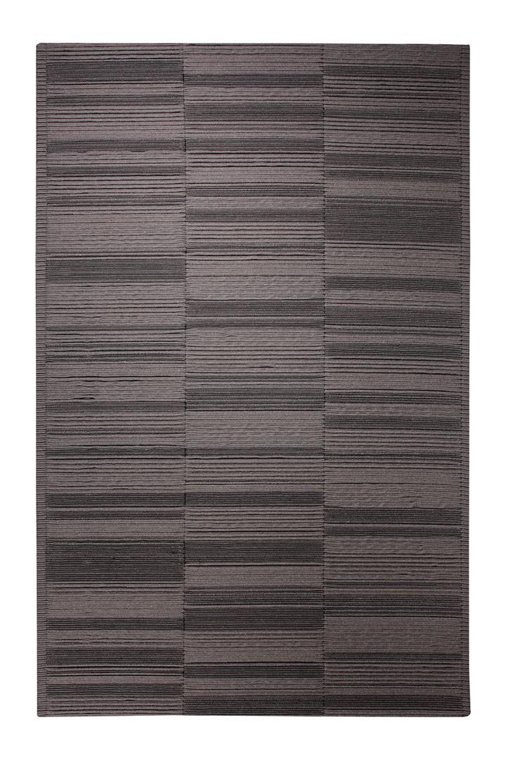 Tapis en laine tissé gris Sliding Shadows par Esprit Home