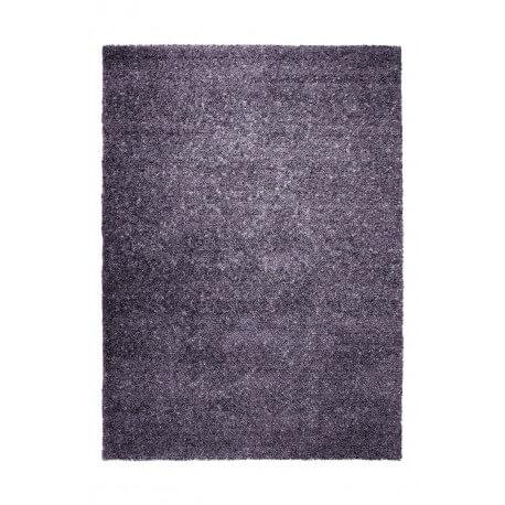Tapis uni en laine violet Spacedyed par Esprit Home