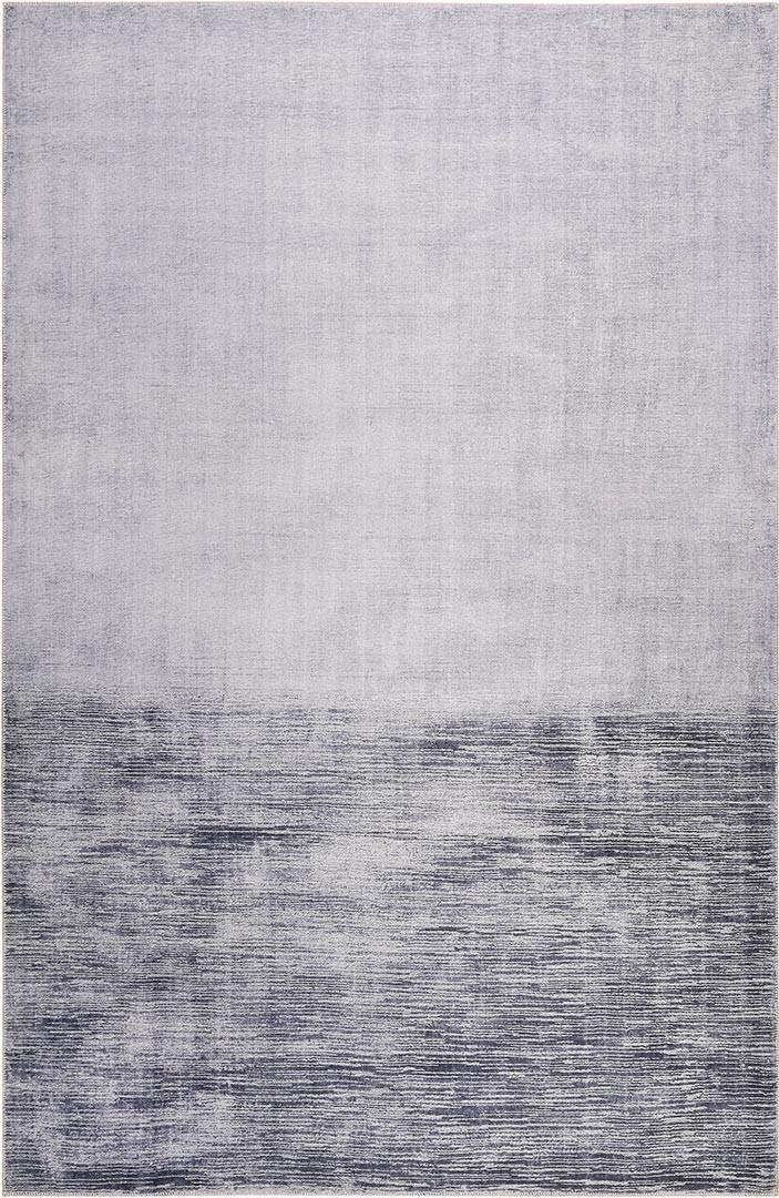 Tapis moderne de salon rayé gris Newlands Esprit