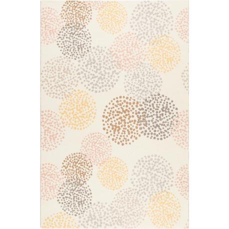 Tapis beige design rectangle intérieur Elsie Esprit