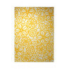 Tapis plat moderne jaune Society Circle par Esprit Home