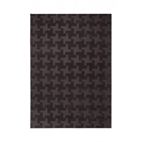 Tapis de salon noir Craft par Esprit Home