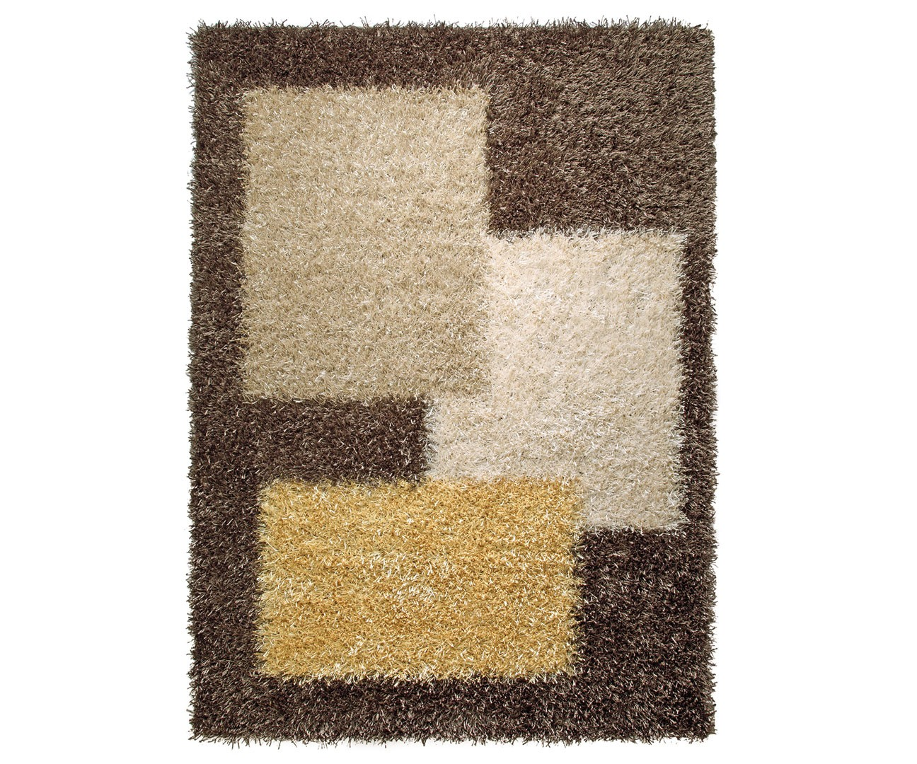 Tapis shaggy marron Cool Glamour I par Esprit Home