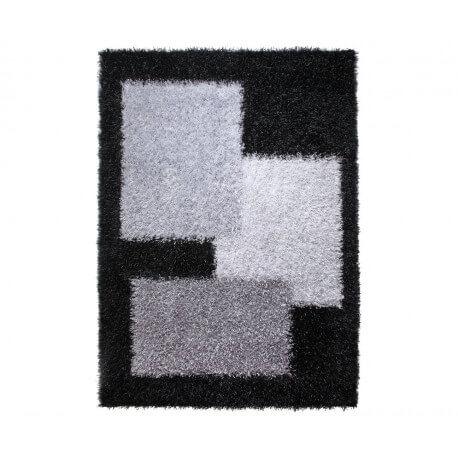 Tapis shaggy noir Cool Glamour I par Esprit Home