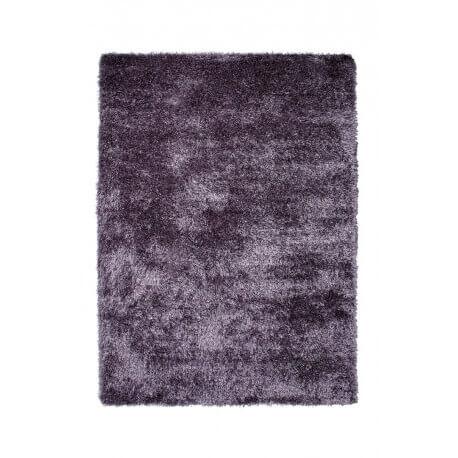 tapis shaggy uni violet new glamour par esprit home. Black Bedroom Furniture Sets. Home Design Ideas