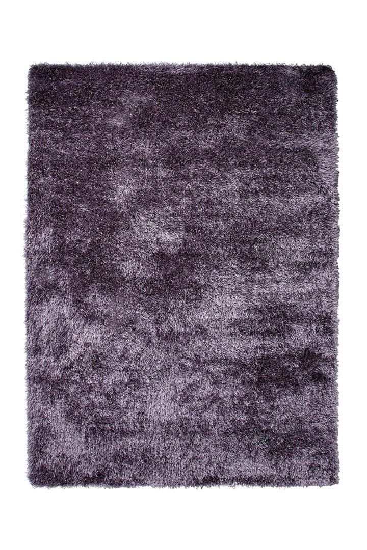 Tapis shaggy uni violet New Glamour par Esprit Home