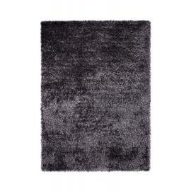 Tapis shaggy uni noir New Glamour par Esprit Home