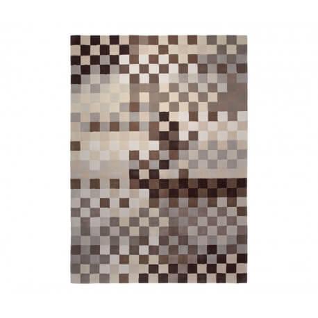 Tapis en acrylique gris Pixel par Esprit Home