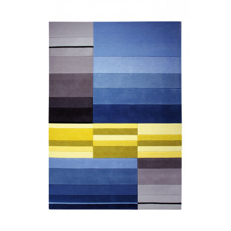 Tapis moderne tufté main multicolore Split par Esprit Home