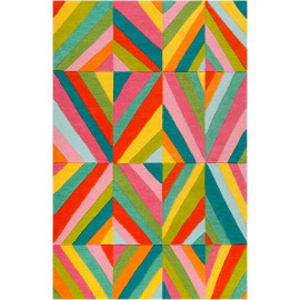 Tapis enfant graphique Funky Kaleidoscope Smart Kids