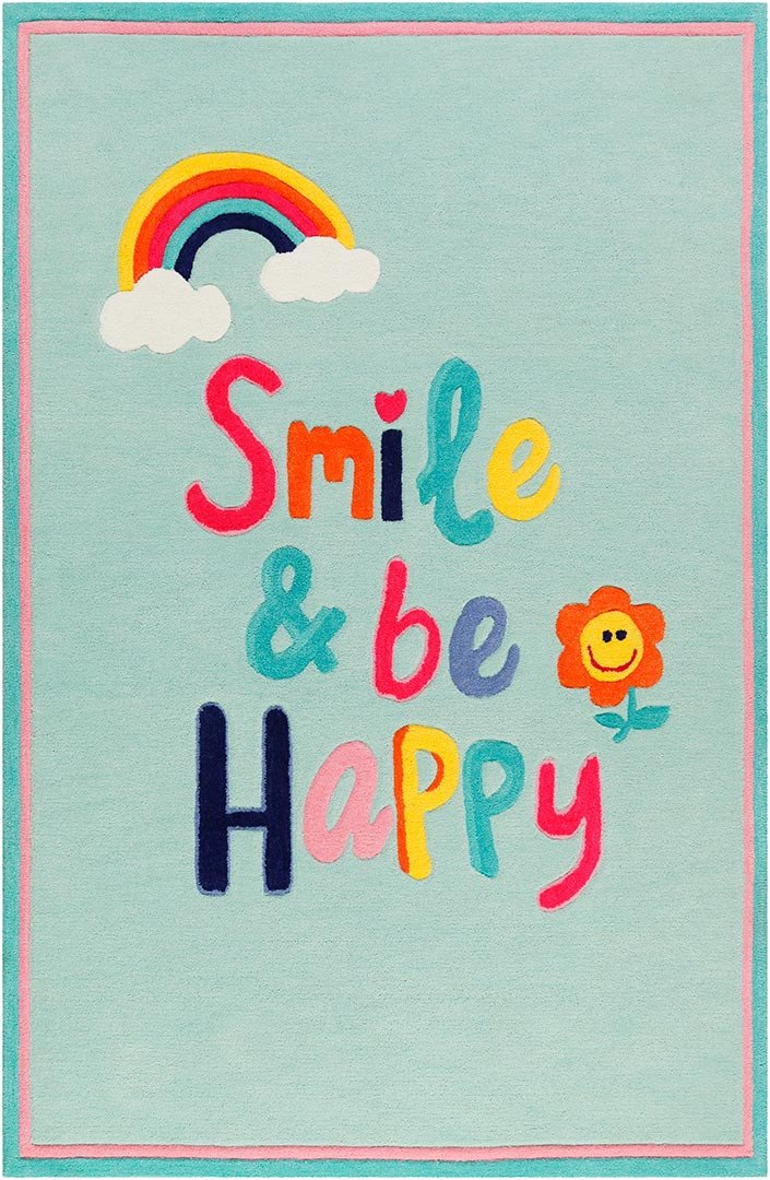 Tapis rectangle pour enfant Happy me! Smart Kids