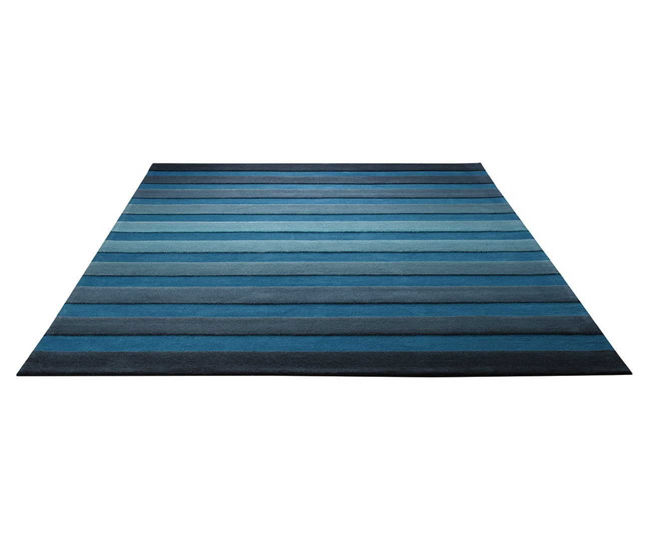 Tapis de salon bleu cross walk par esprit home - Tapis salon gris ...